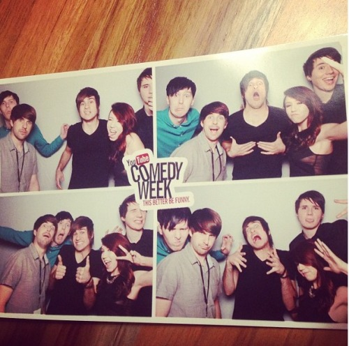 I'M DYING LOOK AT DAN AND PHIL AND THEN THERE'S IAN AND LOOK AT ANTHONY AND KALEL I CAN'T STAND IT WHY CAN'T I BE A YOUTUBER LIKE THEM IS IT BECAUSE I'M LAZY BECAUSE DAN IS PRETTY FUCKING LAZY TOO AND I HAD A BOWL HAIRCUT LIKE IAN LIKE A YEAR AGO AND I HAVE BOOBS LIKE KALEL I MEAN IGNORE ME I'M GONNA GO CURL UP IN A SOCK DRAWER AND CRY