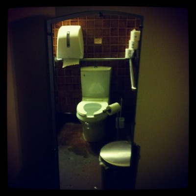 Mirror mirror… The Farm Café, E Portland #toilet, #thefarm, #pdx