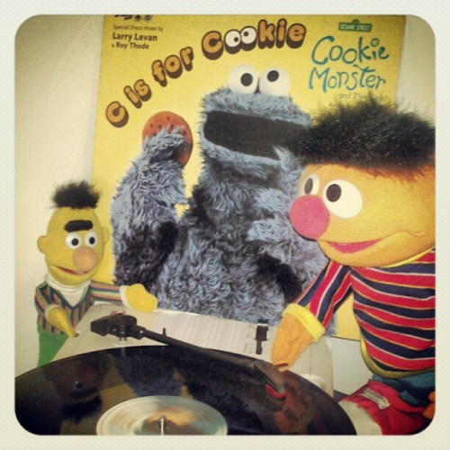 """Fiesta en el Barrio"" The Cookie Monster & Girls – C Is For Cookie (Larry Levan's Funky Version) Pointer Sisters – Pinball Number Count (DJ Food Re-edit) The Cookie Monster & Girls  – C Is For Cookie (Sweet Version)"
