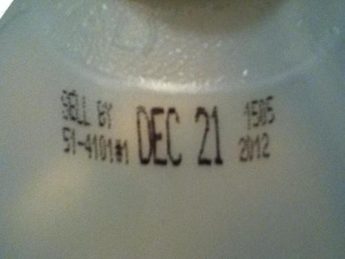 Even the milk knows :O