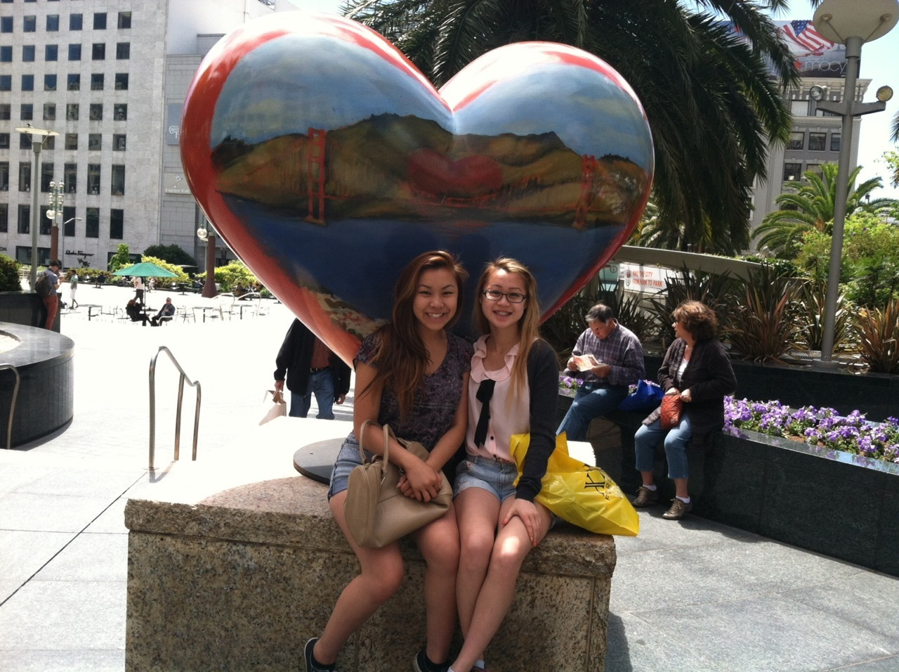 Went to SF for senior ditch day with Lisa!