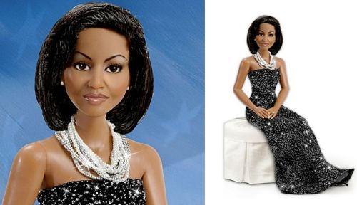This doll is so stunning. I love Michelle Obama!