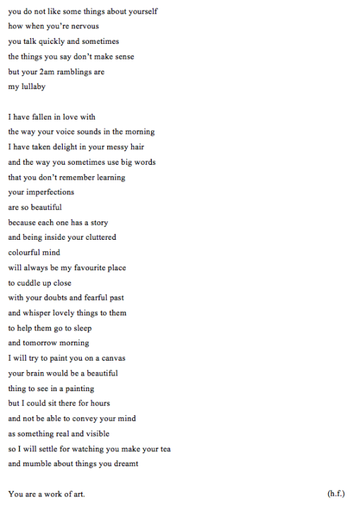 hippievanss:  hi everyone :) this is the first poem of mine I have ever shared. i like this one, what do you guys think?