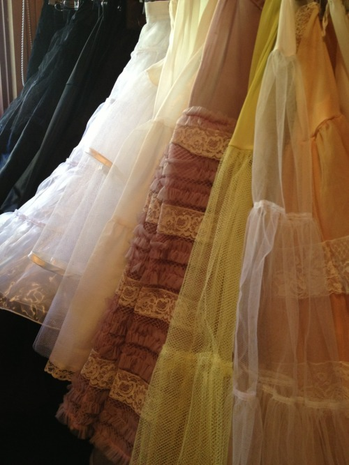 Sneak peek - petticoats for the vintage fair in May