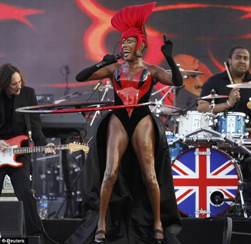 grace jones owns everything. ever. always.