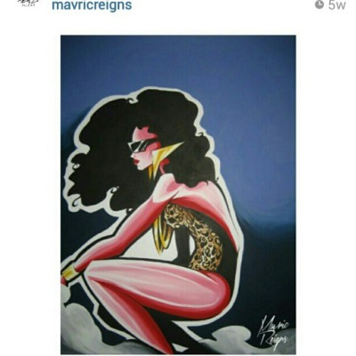When I see #art like this makes me wish I never quit!… #veryDope @mavricreigns you #Raw