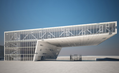 Architecture news from Marseille, 2013 European Capital of Culture Pictured, Villa Méditerranée by Stefano Boeri. Image courtesy: Stefano Boeri, Gianandrea Barreca, Giovanni La Varra