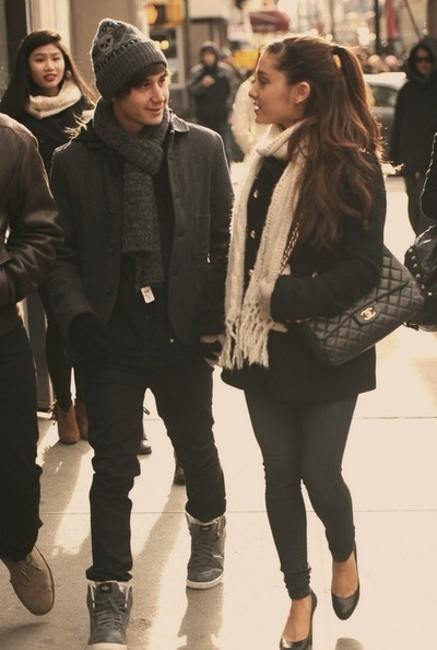 oliviaeleana:  Ariana Grande and Jai Brooks on @weheartit.com - http://whrt.it/118JqA0