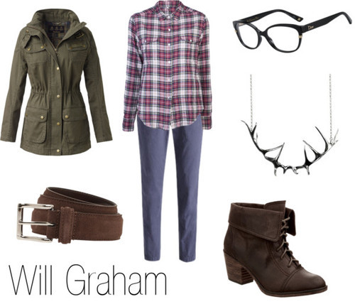 character-inspired-fashion:  Will Graham
