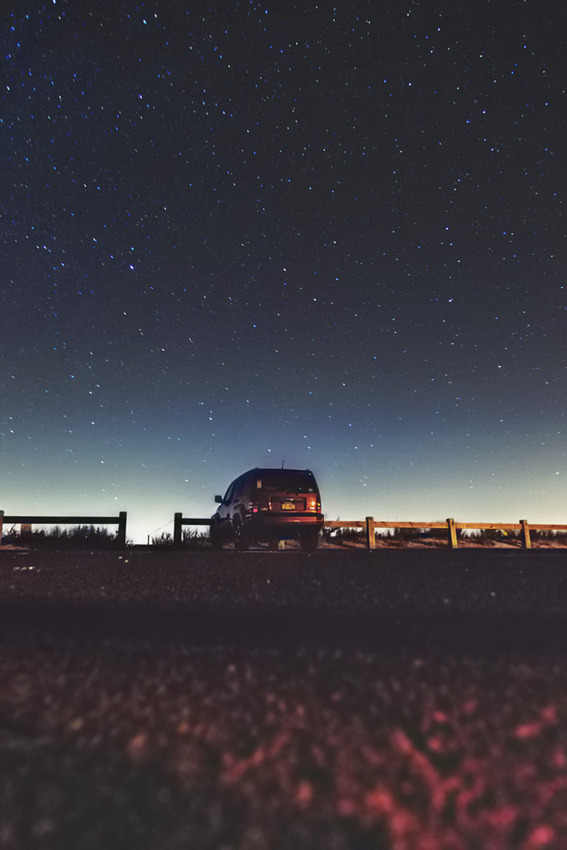 brutalgeneration:  Parked within the stars. (by SPO.)