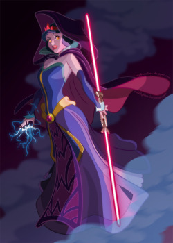 sith version of snow white by the incredible Ralph Sevelius