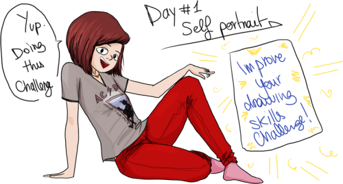 Started this challenge today, I'm practicly sure I won't be able to draw every single day, but I'm ready to finish this before I leave for France on July the 1st ! LET'S DO THIS ! Since I paused my french blog for various reasons, I'm gonna focus more on special things like drawing, because I'm really motivated and I want to improve badly! Here's the link to the challenge for those who want to improve as well:  http://zellkabellk.tumblr.com/post/41295801817/30-days-of-art-improvement-challenge