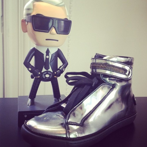 Karl Lagerfeld line as cool as ever