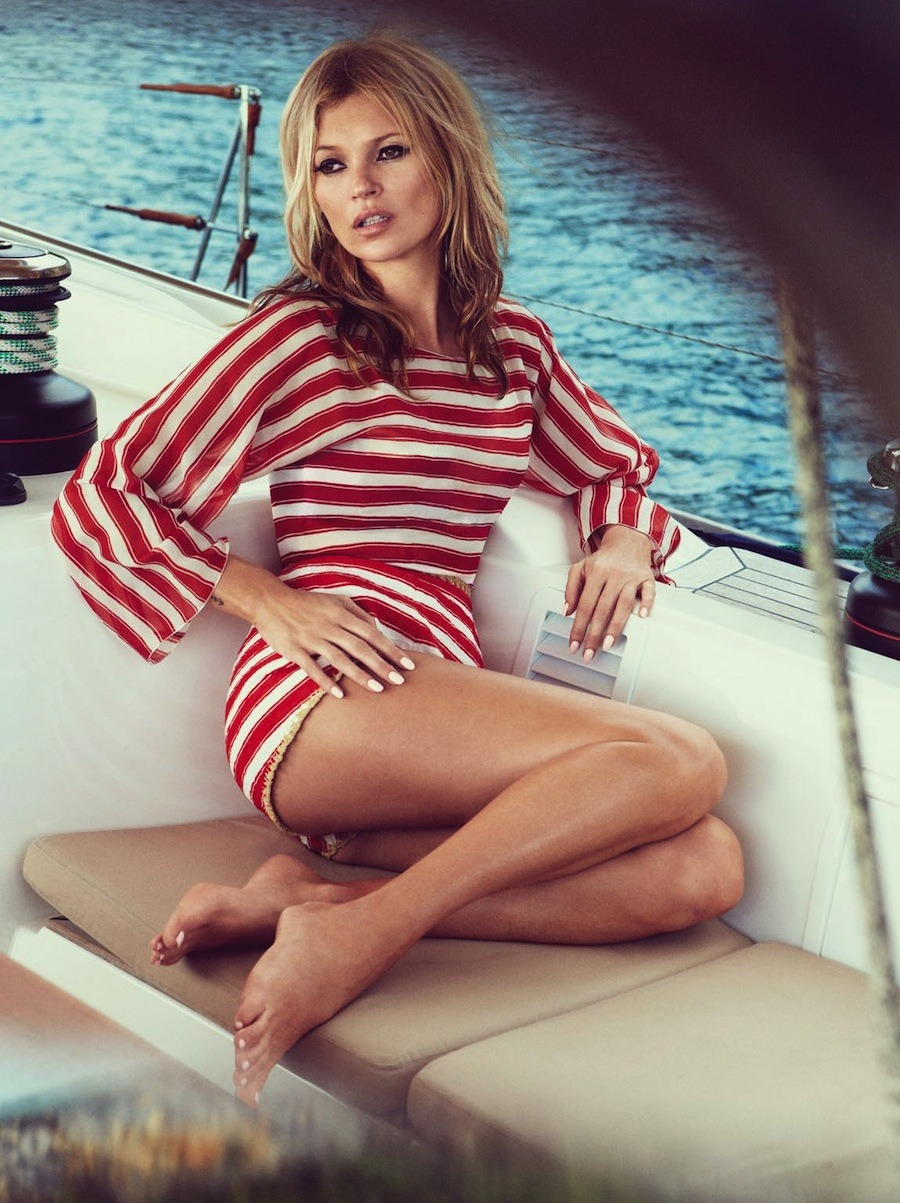 les-magnifique:  VOGUE UK JUNE 2013: KATE MOSS BY PATRICK DEMARCHELIER