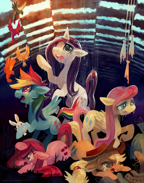 purplekecleon:  One Trick Pony  Print for Las Pegasus Unicon this weekend!