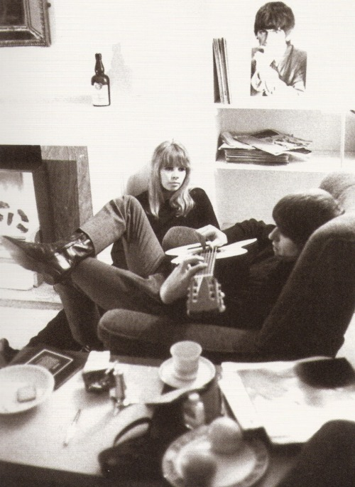 "thateventuality:  Scan - Astrid Kirchherr and George Harrison, Green Street, 1964 Photo: K&K/Max Scheler ""I am still in contact with Paul and Ringo to this day. But I had the strongest friendship with George. He was one of my best friends. We saw each other often, and he always looked after me, got in touch constantly to ask if I was healthy and if I have everything. Today… I still meet up with his wife Olivia and his son Dhani."" - Astrid Kirchherr, Hoerzu, 2005 ""George was always my favourite, his kindness and his wit. He was just a wonderful person and whenever I was in trouble, like with money and things, he was always looking after me and he invited me a couple of times to London and later on to Henley. I just miss him terribly because he was like a little guardian angel for me, I feel like I am in a way lost without him."" - Astrid Kirchherr, A Retrospective ""…Astrid was so loving; she'd take us home and feed us. She helped us a lot, even just to let us have a bath. Astrid was twenty-two at that time, and I was seventeen; she seemed so much older than me, and so grown up…"" - George Harrison, The Beatles Anthology ""…Astrid was the one, really, who influenced our image more than anybody. She made us look good."" - George Harrison on the early photos Astrid took of the band in Hamburg, The Beatles Anthology"
