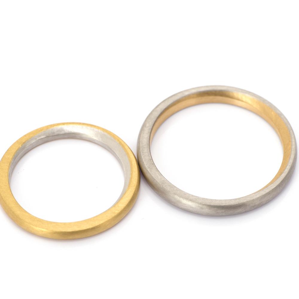 屋久島でつくる結婚指輪 ゴールド、プラチナ
