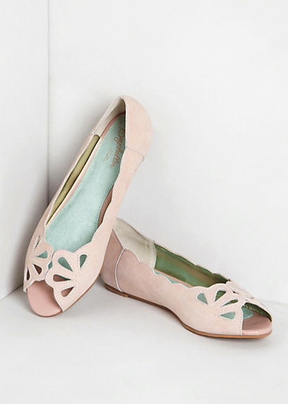 [Mariposa Scalloped Peep-Toes by Anthropologie]