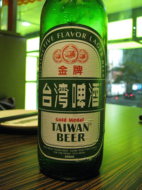 taiwanesefood:  Taiwan beer by andyket on Flickr.