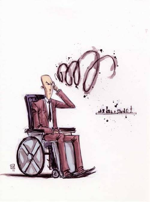 astonishingx:  Professor X by Skottie Young