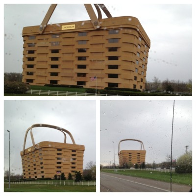 Hey …Longeberger sells baskets and if you could build a world HQ shaped like your product, you'd do it, too.
