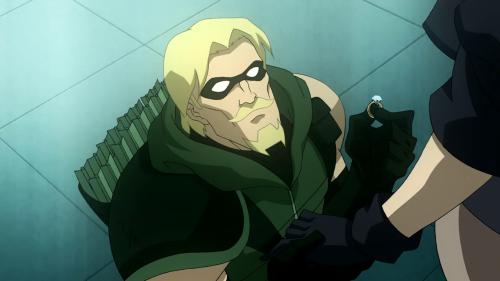 nerdotakugifs:  Screenshots from DC Showcase: Green Arrow
