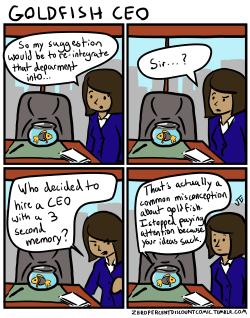 comics goldfish webcomics