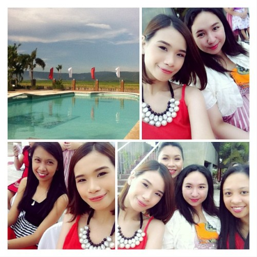 Congrats Ate Louie and Kuya Sandy! #wedding #laguna #resort #collegefriends