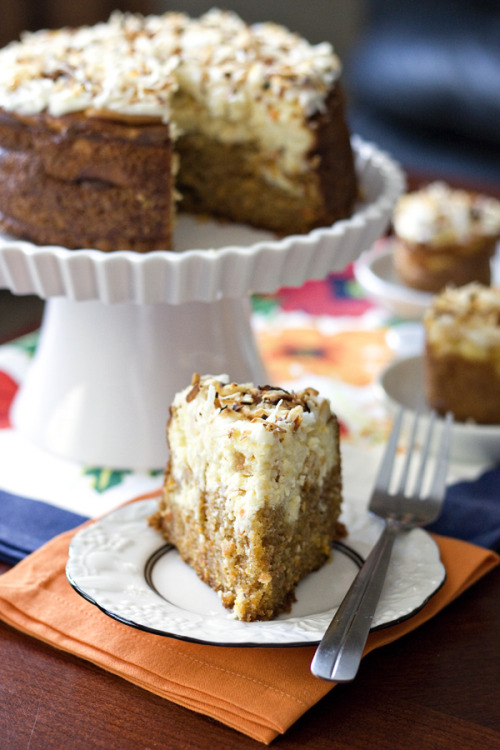 Carrot Cake Cheesecake by Erica's Sweet Tooth