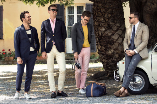 justinchungphotography:  GANT Rugger Spring/Summer 2013 Campaign, featuring #TEAMAMERICANO. Photographed in Italy.