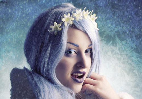 Winter Voltage on Flickr.Photo by me:) Model and MUA:  Krista aka anestheticx Wardrobe:  Fringefalcon(me:) Textures:  Morguefile and BittboxFacebook  / Tumblr / Behance  / www.sabrinarummell.com