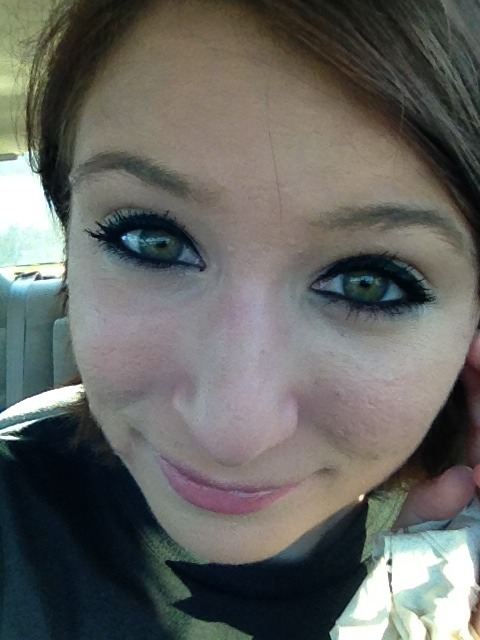 My eyes look really green today. =D