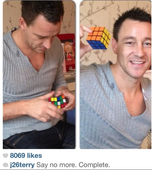 John Terry on instagram