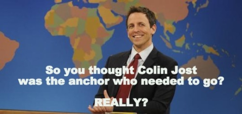 A message for Lorne Michaels.