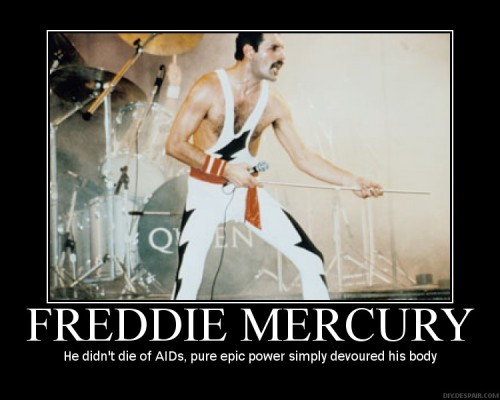 I don't always repost memes, but when i do, they're epic. freddie mercury epic.