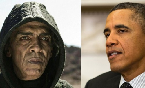 theweekmagazine:  Why does The Bible's Satan look so much like Obama…?