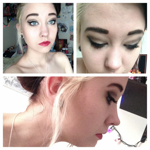 beautyblargh:  makeup for today  gasps!!!