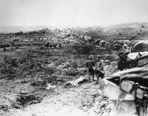 US troops of the 84th Brigade prepare fro the Battle of St. Mihiel, September 1918