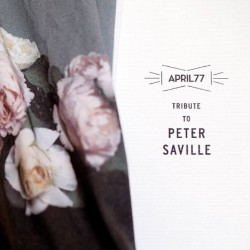 Our Tribute To Peter Saville - 05/16/13