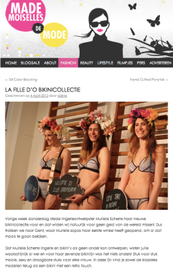 MADEmoiselles de mode presentation new bikini collection She is My Memory Collection  http://shop.lafilledo.com/webshop/p/category/wants