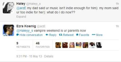 favouriteworstnico:  vampire weekend is ur parents now