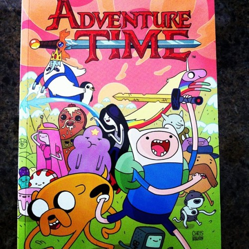 #justread Adventure Time vol. 2 #schmowzow! It's like reading an alternate universe version of my diary. Weird…#comics