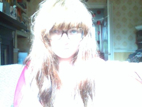 this is not the effect of the sun, this is what i usually look like.