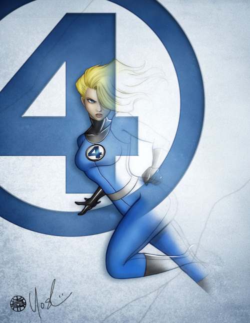 infinity-comics:  Invisible Woman | Protokitty