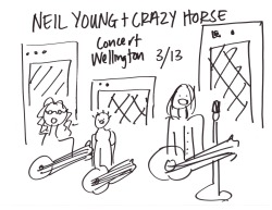 Neil Young and Crazy Horse in Concert Hello. Last Tuesday I went to Neil Young and Crazy Horse. For once, I don't have much to say. Th…View Post