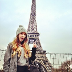 zoella:  Look where I've snuck off to! <3
