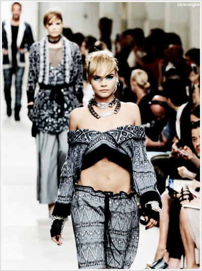 Chanel Cruise 2014 collection in Singapore   #sexy #cara #delevingne #fashion #queen