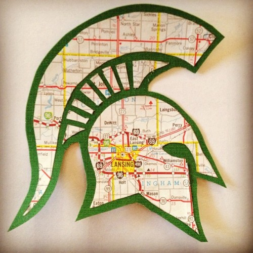 haddiebug:  I made a thing. #msu #eastlansing  Awesome!