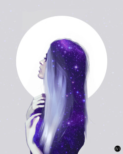 art-shannonigans:  Moon by ~Psycholand1