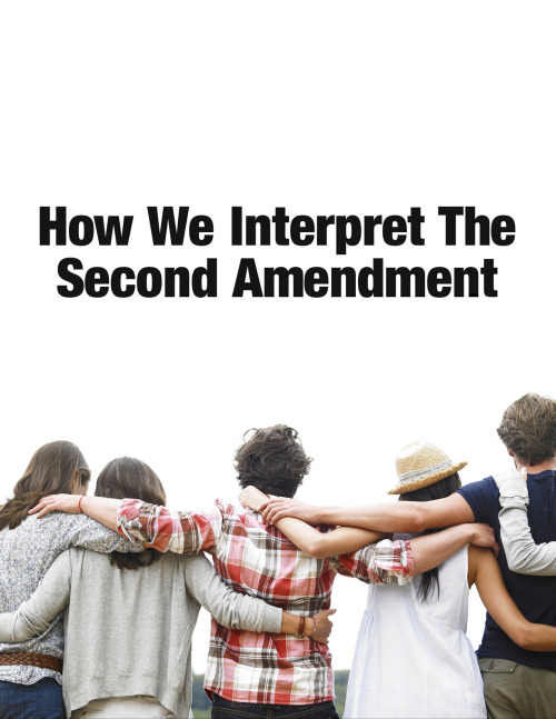 Debbie Millman interprets the Second Amendment in a new series of posters against gun violence. Complement with Stephen King on guns.